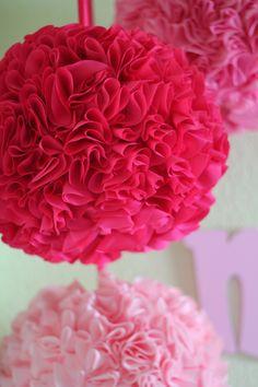 DIY Ruffle Lanterns - Perfect for baby girl nursery