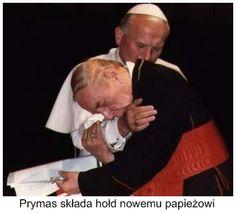 John Paul II and Stefan Wyszyński; Papiez Jan Pawel II i Prymas Stefan Wyszyński