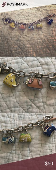 Brighton Charm Bracelet Great condition, barely used Brighton Jewelry Bracelets