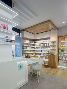 Farmacia Albarelo - taller de farmacias. Diseño , proyectos y reformas de farmacias en Galicia, A Coruña, Pontevedra, Lugo, Orense.