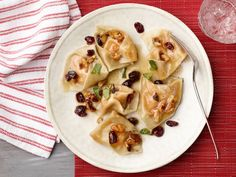 Make homemade tortellini with wonton skins, or use store-bought, and serve with a topping of brown butter, sage and walnuts.