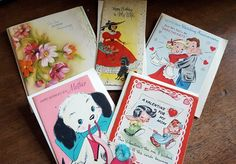 One Man's Trash: Vintage Greeting Cards