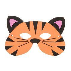 ConsumerCrafts Product Foamies® Tiger Mask