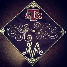 Graduation cap decorating idea #graduation #cap