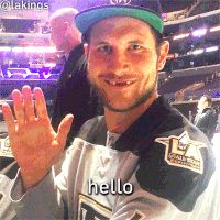 smiley face smile GIF by LA Kings