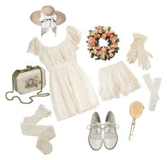 """""""Old Age"""" by mint-hime ❤ liked on Polyvore featuring Dorothy Perkins, Trasparenze, Kenzo, Fogal and vintage"""