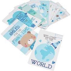 Baby Boy Milestone Memorable Moments Cards 30 Pack | Hobbycraft