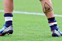 10 Designs Inspiration from the Most #Tattooed #Soccer Players | #tattoo #art #design