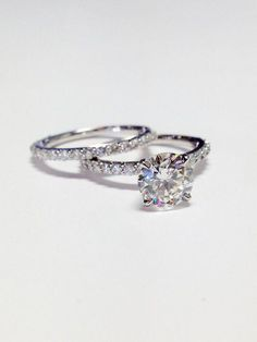 c0002d828dc0 1.00CT Diamond Round Brilliant Solitare Engagement by FineJewlers   engagementrings
