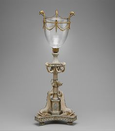 *1780-1790 British Candlestand (one of two) at the Metropolitan Museum of Art, New York
