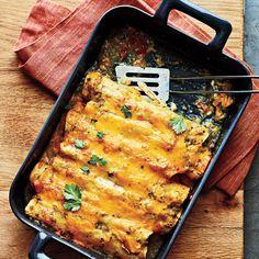 Chicken Enchiladas - 300-Calorie Dinners - Cooking Light