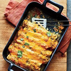 Chicken Enchiladas - 300-Calorie Dinners - Cooking Light