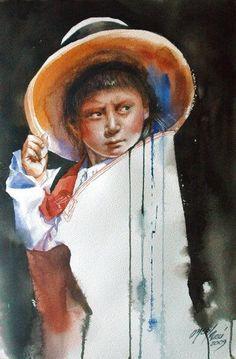 Rogger Oncoy | Watercolor Paintings | Peruvian Painter