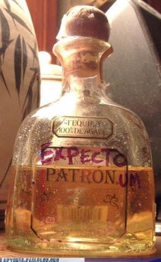 Wow, how did you know my Patronus is a margarita?