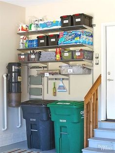 home organization ideas * home organization ; home organization ideas ; home organization declutter ; home organization hacks ; home organization diy ; home organization ideas clutter ; home organization bedroom ; home organization ideas diy Pantry Makeover, Garage Door Makeover, Garage Shed, Garage House, Garage Walls, Clean Garage, Garage Stairs, Room Above Garage, Garage Flooring