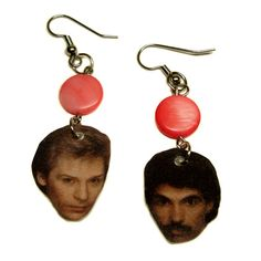 Hall and Oates Earrings for Gretchen's bday