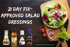 Which salad dressings are 21 Day Fix Approved?