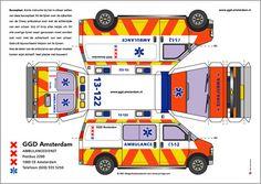politie auto kleurplaten medium