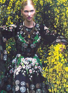 Dolce&Gabbana Spring Summer 2014, Elle Turkey June 2014 -