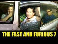 WATCH Sachin Tendulkar, Aamir Khan and Raj Thackeray at the screening of THE FAST AND THE FURIOUS 7.  See the video at : https://youtu.be/1UoT6BRnTVY #aamirkhan #sachintendulkar #rajthackeray