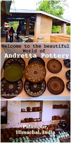 Andretta Pottery Studio and Craft Society in Andretta Village, Palampur, India. Run by Sardar Mansimran Singh (Mini). The studio gives courses in pottery making