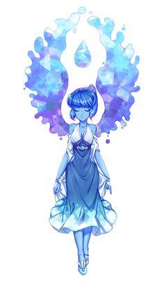 Lapis, Steven Universe. By Aesice