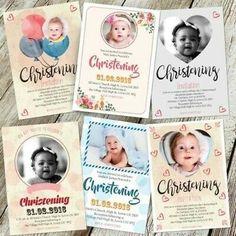Advertisement - Personalised Photo Christening Baptism Invitations Boy Girl Free Proof Luxury Card, Baptism Invitations, Christening, Party Supplies, Greeting Cards, Boys, Garden, Crafts, Free