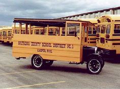 1926 Ford Model T School Bus  (Our Dad was born this year)