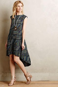 Gradient High-Low Dress - anthropologie.com