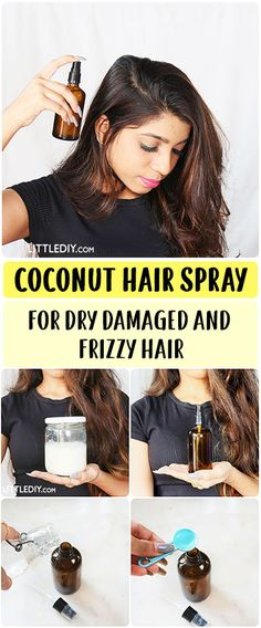 Dry and frizzy hair looks really unhealthy (and it definitely is!) as it fails to reflect light and lacks moisture. If you frequently heat-style your hair or do not condition or moisturize enough especially during READ MORE. Onion Hair Growth, Hair Growth Oil, Onion For Hair, Coconut Hair, Hair Remedies For Growth, Damaged Hair Repair, Hair Breakage, Damp Hair Styles, Strong Hair