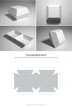 Chamfered Box – FREE resource for structural packaging design dielines (Diy Box Design)
