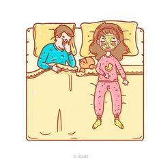 Женщина спит— женщина хорошеет.