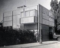 Color y arquitectura contemporánea » Neoplasticismo. Thomas Guerrit Rietveld