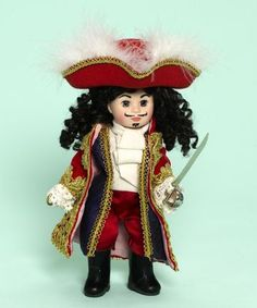 Captain Hook 8 inch Collectible Doll by Madame Alexander