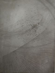 Erina Kawachi(Japan) MIZU-kakera 35×25 cm (30×21.6 cm print)  Etching, Aquatint   2013