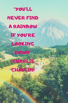 Vevey, Aretha Franklin, Charlie Chaplin, Deep Purple, Inspirational Quotes, Rainbow, Mountains, Words, Nature