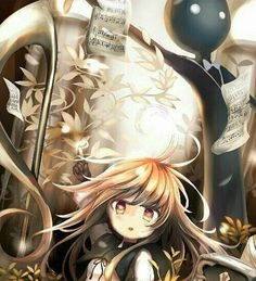 Three last posts before I go to bed tonight... I'll miss you guys next week. | #Deemo #Hans #Alice #music #game #animeart #story #piano #tree #mask #song #cat #sheetmusic #trebleclef #notes #leaves #warm #brother #sister #siblings #sad #cry #death #beautiful #fanart #Rayark by deemo_o.o