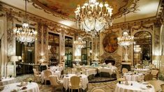 A luxury dinner in Europe's the most expensive restaurant. #luxuryexperiences #luxuryholidays #paris