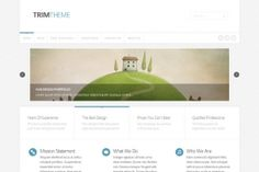 Trim is a simple, professional and versatile  Wordpress theme with clean design!
