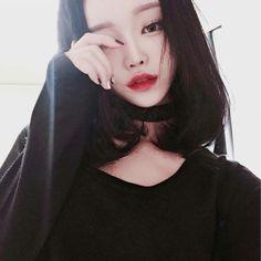 Resultado de imagem para korean girl tumblr snowapp
