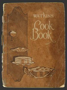 1925 Watkins Food Products Recipe Booklet, Vintage Recipe Booklets