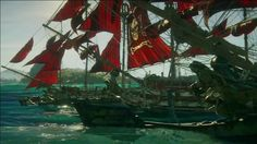 Skull and Bones: Multiplayer and PvP Gameplay - E3 2017: Ubisoft Conference The Raiders take on the Cutthroats in a 5v5 Loot Hunt pirate warship battle. June 12 2017 at 09:46PM  https://www.youtube.com/user/ScottDogGaming