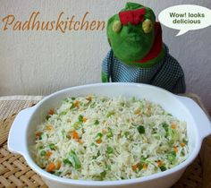 Padhuskitchen: Vegetable Fried Rice-How to prepare Vegetable Frie...