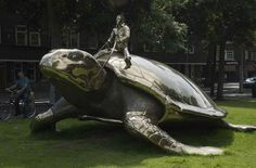 40 Unusual and Creative Statue and Sculpture Art. Searching for Utopia. Amsterdam, Netherlands