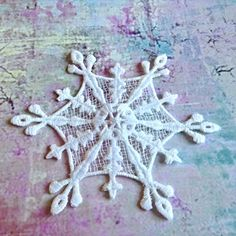 Snowflake No.2 - sněhová vločka...