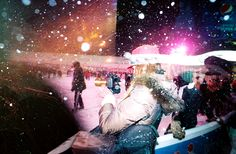 Enjoy this Fun festive Christmas video taken in NYC with the Petzval Lens.