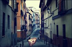 Colourful Avenues/ Take Out The Valise Skyline, San Francisco, City, Grande, Google, Monuments, Sevilla, Pictures, Skeletons
