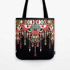 Modern Deco in Red and Black Tote Bag by micklyn Black Tote Bag, Poplin Fabric, Hand Sewing, Original Artwork, Shirt Designs, Shoulder Bag, Deco, Modern, Stuff To Buy
