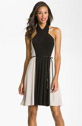Vince Camuto Colorblock Jersey Dress