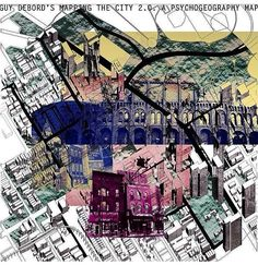 Guy Debord mapping the city